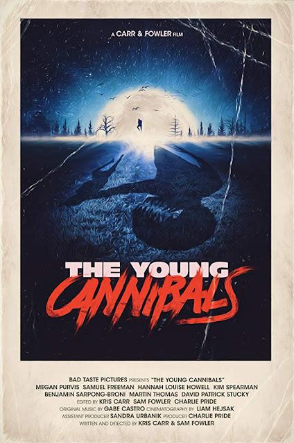 """""""The Young Cannibals"""" (2019), una película con monstruo y hamburguesas humanas!"""