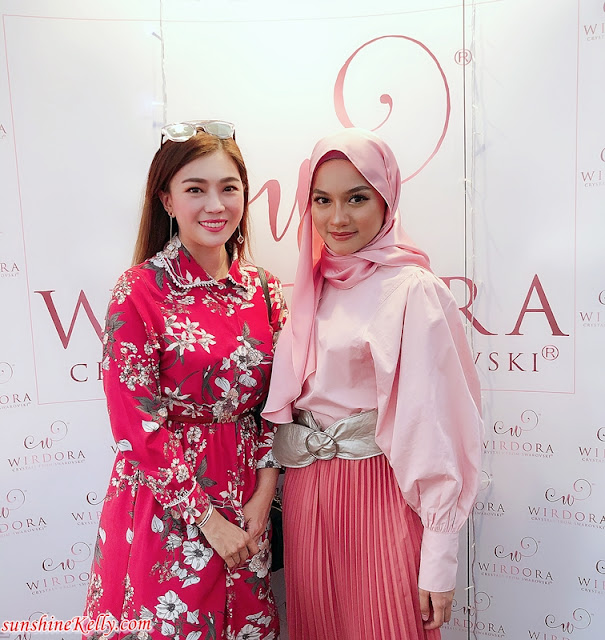 WIRDORA New Showroom Boutique @ Ampang Kuala Lumpur, Wirdora Swarovski accessories, Wirdora, hijab accessories, Swarovski hijab accessories in Malaysia, hijab accessories in Malaysia, Swarovski accessories, Face of Wirdora, Fashion