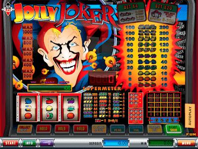 Jolly Joker interneto žaidimas