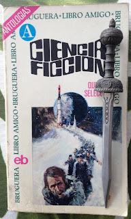 Portada del libro Ciencia ficción quinta selección, de varios autores