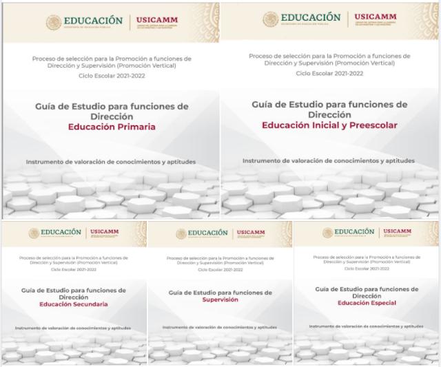 Guías de Estudio para funciones de Dirección y Supervisión USICAMM 2021