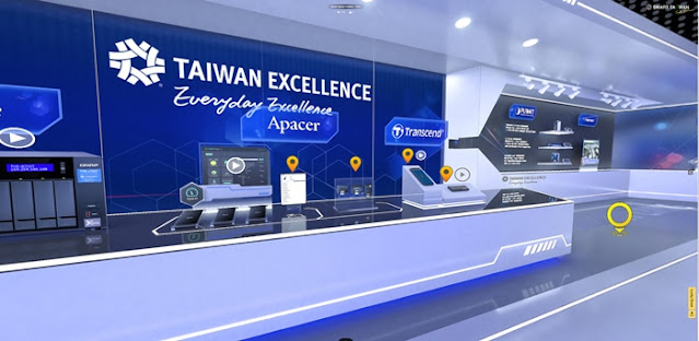 Taiwan Excellence,  WCIT 2020, Smart Taiwan Virtual Reality Pavilion, Contactless Economy, Smart Living, Smart Retail,  TAITRA, VAGO, QNap, Lifestyle
