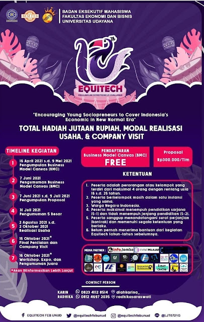12th Equilibrium Entrepreneur Challenge (Equitech)