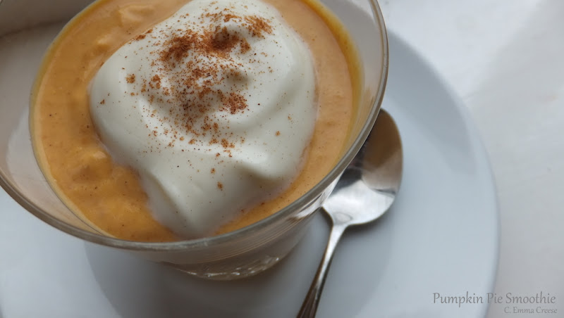 Pumpkin Pie Smoothies brunch recipe