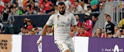 Previa Real Madrid-Arsenal : Segundo partido de la Gira 2019