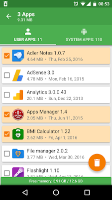 تطبيق Uninstaller Apps للأندرويد, تطبيق Uninstaller Apps مدفوع للأندرويد, Uninstaller Apps apk