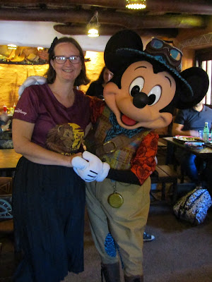 Meeting Mickey in Hakuna Matata