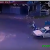 Vídeo mostra momento exato do choque entre motociclista e um carro; Condutor é arremessado e choca os internautas