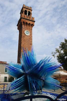 Scultura in vetro a Murano