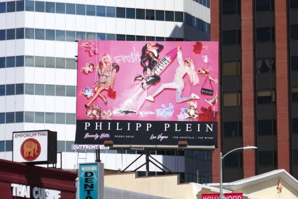 Philpp Plein Fresh 2018 billboard