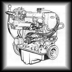 Двигатель CVH