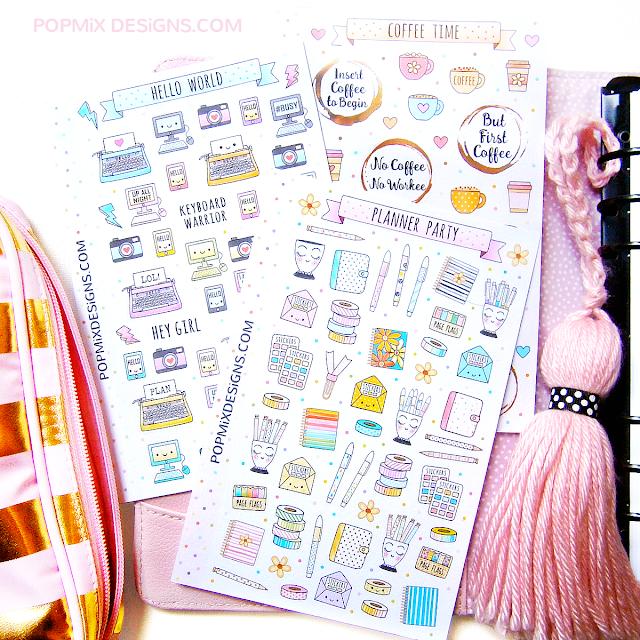Popmix Stickers