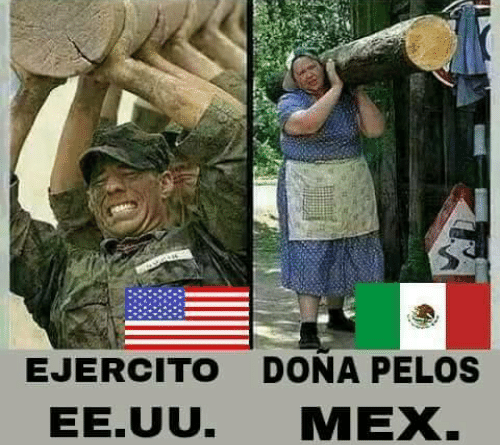 Comparacion Mexico vs Estados Unidos