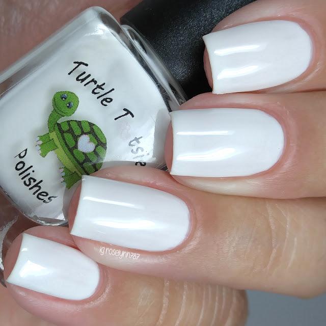 Turtle Tootsie Polishes - White Ranger