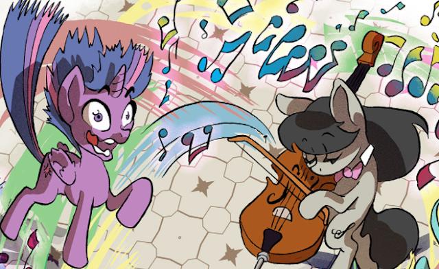 comic my little pony mlp