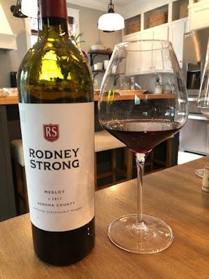 Rodney Strong Vineyards 2017 Sonoma County Merlot