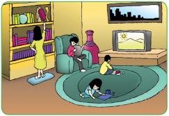 Soal Bahasa Indonesia Kelas 1 Bab 4 - Keluarga