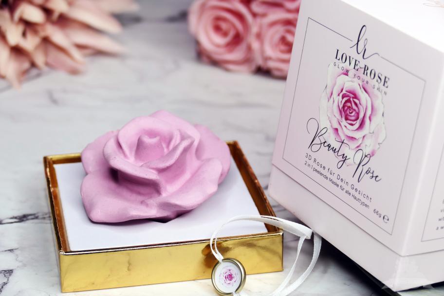 Review 3D Beauty Rose für dein Gesicht Love Rose Cosmetics
