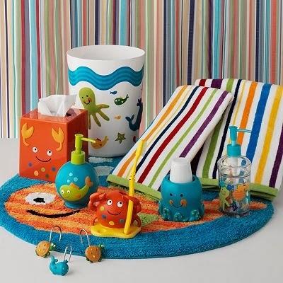 Kids Bathroom Decor - Bedroom and Bathroom Ideas