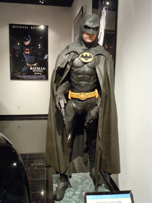 Michael Keaton Batman costume