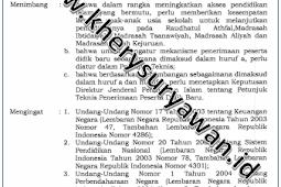 Juknis PPDB Madrasah Tahun Pelajaran 2021/2022