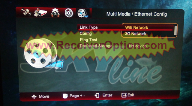 SKYLINE HD222i 1506G 4MB NEW SOFTWARE WITH G-SHARE-PLUS OPTION