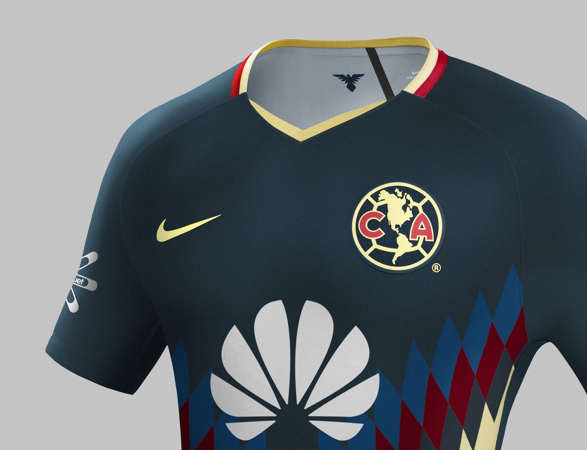 Club América 17 18 Home Kit Revealed Footy Headlines