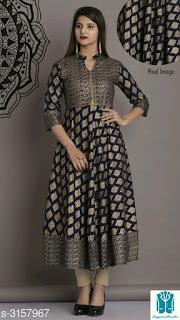 Jiya Elegant Trendy Women's Kurtis