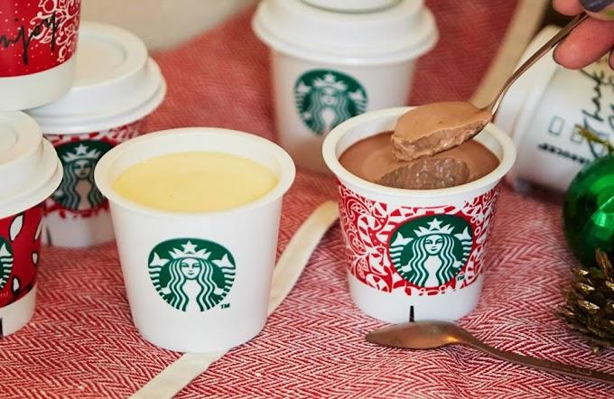 【日韓限定】Starbucks推出香滑布甸 看到就想吃!