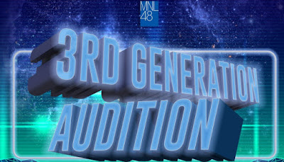 Details on MNL48 3rd generation audition members