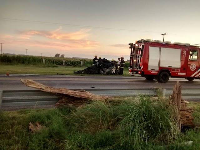 PRIMERAS IMAGENES DEL ACCIDENTE DE ESTA MAÑANA