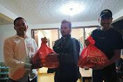 Ramadan Berkah, HMI Sumut Berbagi Paket Sembako