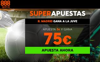 888sport ganancias super apuestas Juventus vs Real Madrid 3 abril
