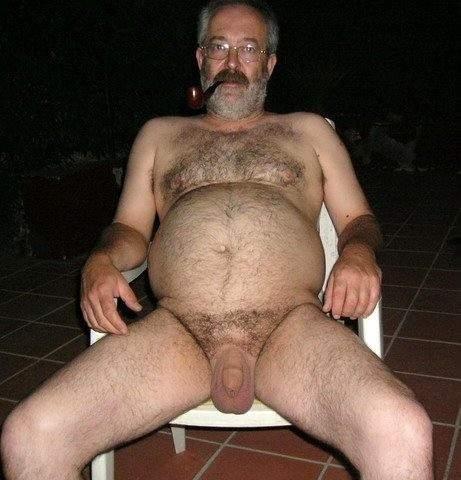 Mature Hairy Man 102