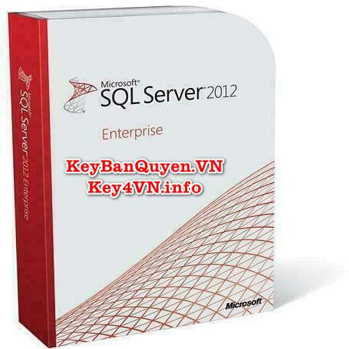 Mua bán key bản quyền SQL Server 2012 Enterprise 64 Bit.