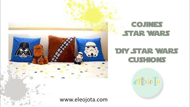tutorial cojines star wars