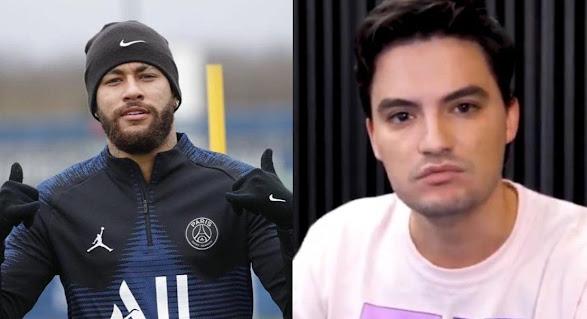 Felipe Neto se irrita e dispara sobre caso de racismo contra Neymar