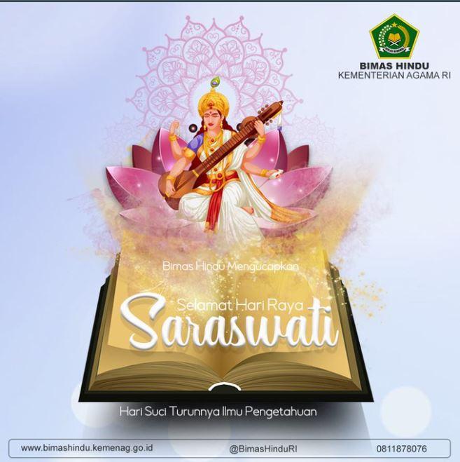 Memperingati Hari Raya Saraswati