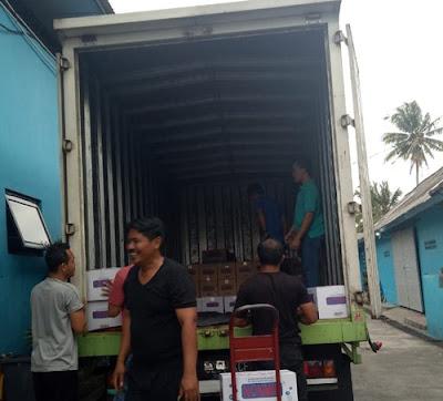 Sewa Truk Box Bekasi Semarang