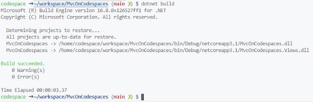 dotnet build