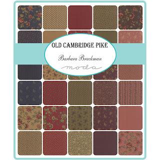 Moda Old Cambridge Pike Fabric by Barbara Brackman for Moda Fabrics