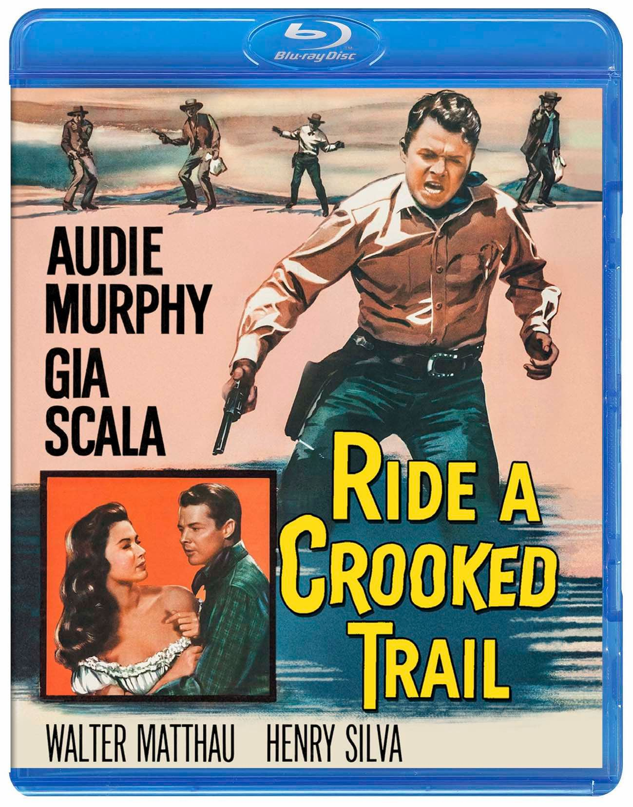 Pulp Serenade Ride A Crooked Trail 1958