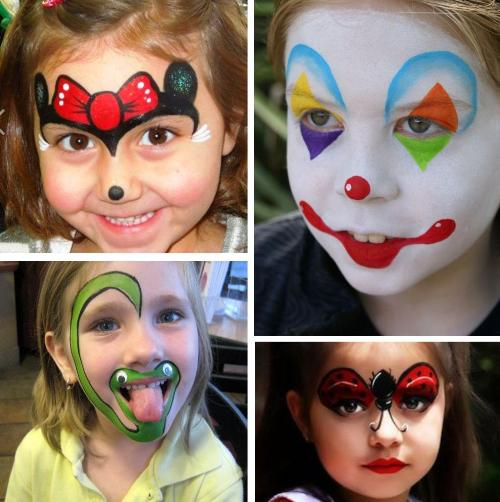 face paint ideas for girls