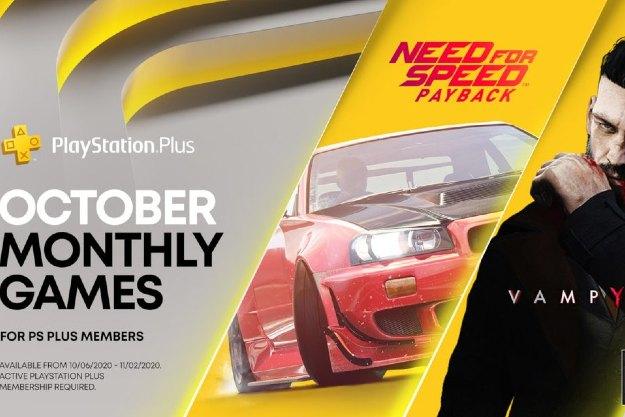 [PS Plus]:  Δυνατός ο Οκτώβριος με Need for Speed και... Vampyr