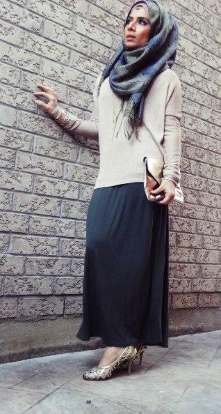 Saman s makeup and hijab styles  Tea pink and Army Green with lots ... 70fc84bc9