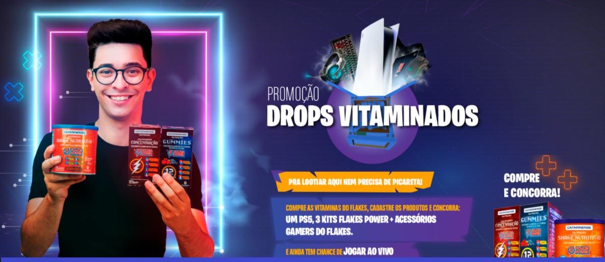 Promoção Drops Vitaminados Flakes Power 2021