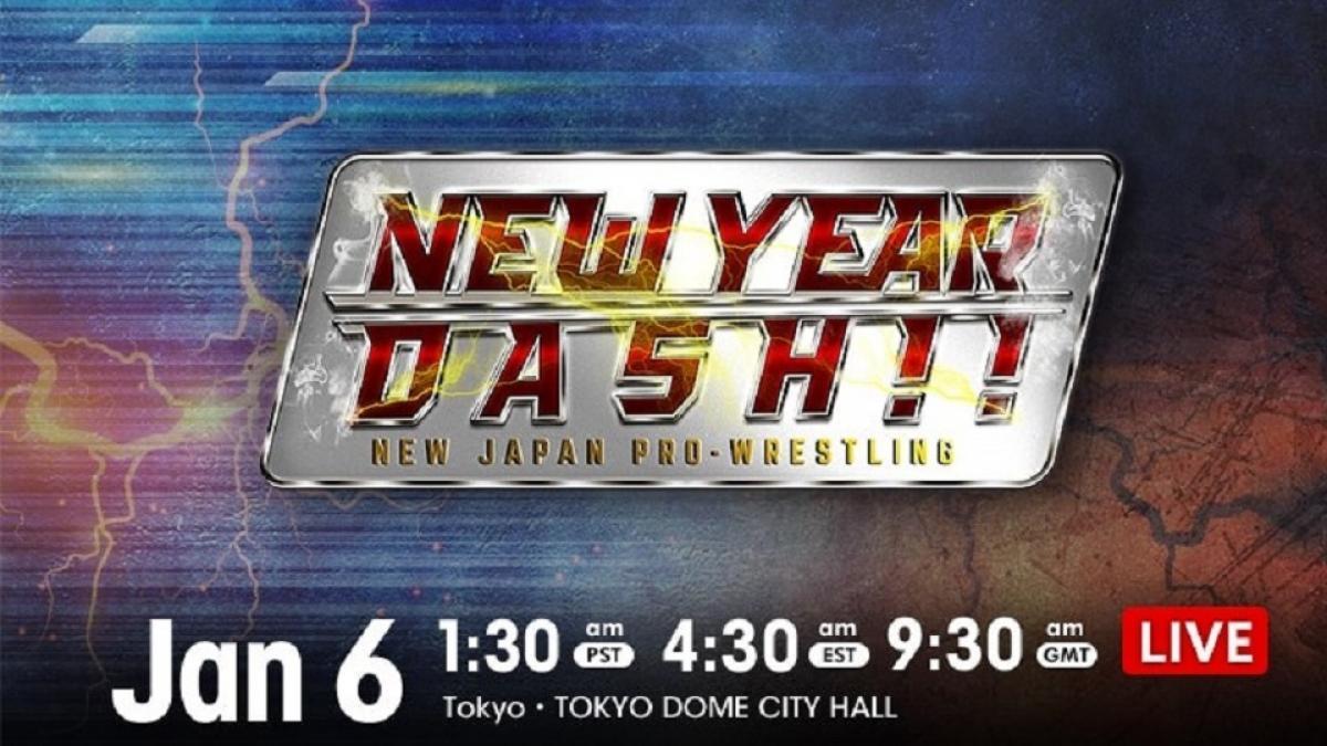 Cobertura: NJPW New Year Dash 2021 – Ingovernáveis!