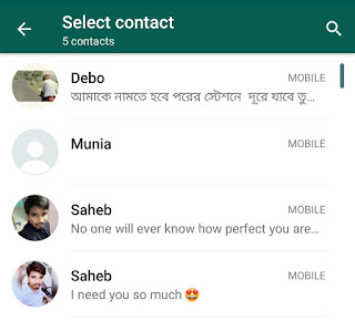 block a number in advance on whatsapp