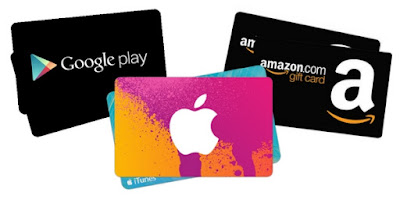 buy gift cards itunes, amazon google play in nigeria