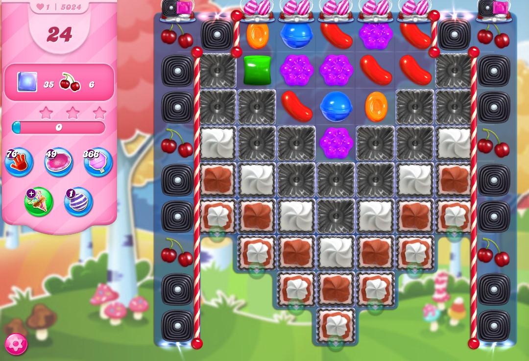 Candy Crush Saga level 5024